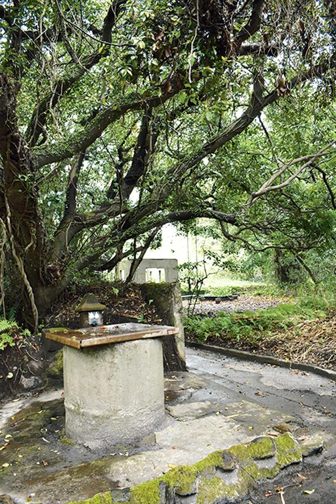 新島「かつての生活用水井戸」