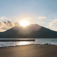 錦江湾に浮かぶ新島を探検。民泊OK!ゆったりまったり島時間♪