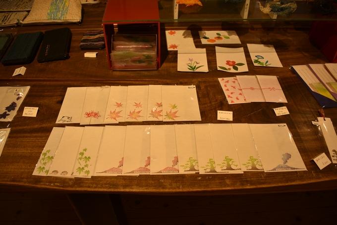 和紙ギャラリー展示販売作品
