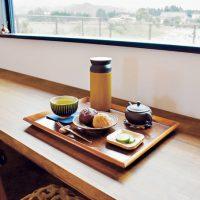 年輪堂|選べる緑茶セットを霧島連山の景色と。隠れているカフェ?