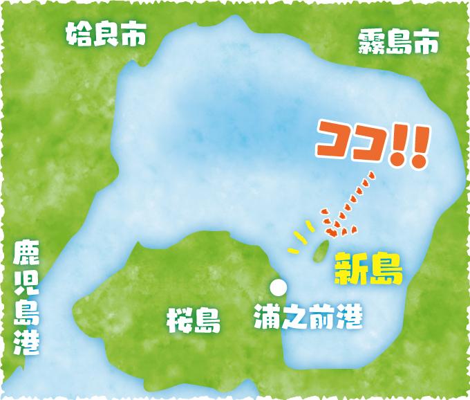 新島の位置