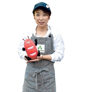 たか森カフェ「キッチンカー☆モリー店長の堀内加奈子さん」