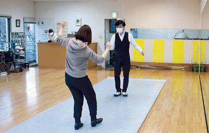 古い記事: ダンス・スタジオ・リキでタップダンスを極めてやる!by歌