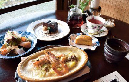 ハーブアンドカフェレストラン祐 海老のドリア