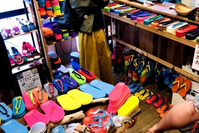 奄美大島 Shoes-Shop1016の店内