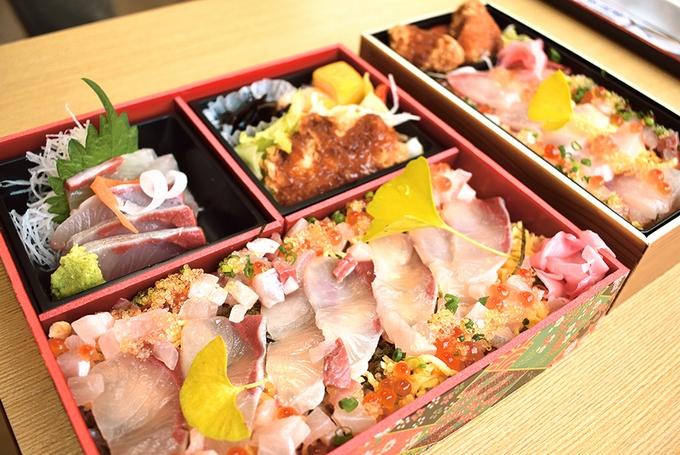 味処 海の桜勘/勘八ちらし寿司弁当