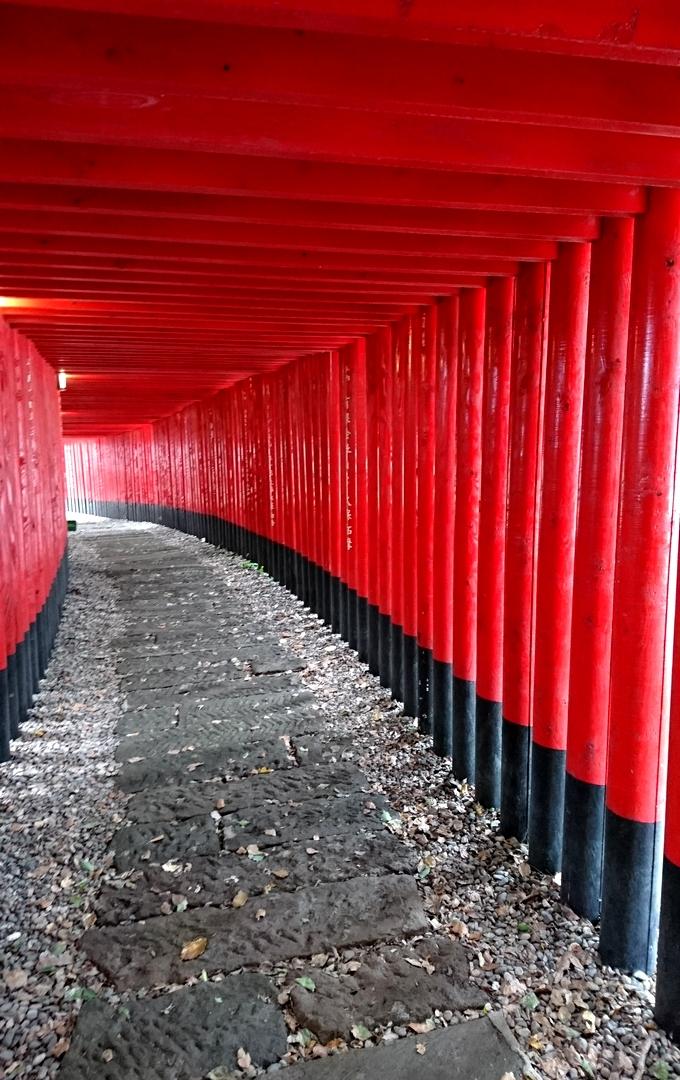 神徳稲荷神社「千本鳥居」