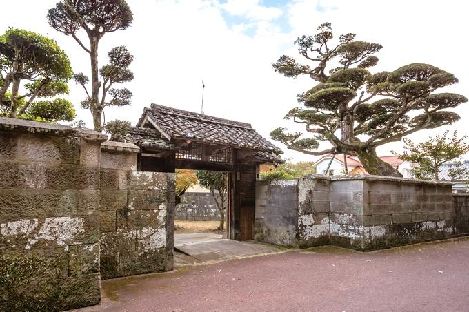 串木野 旧入来邸武家屋敷