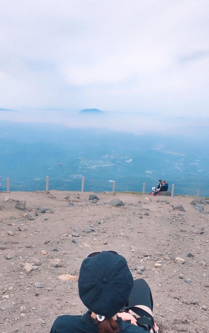 高千穂峰頂上