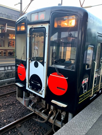 肥薩おれんじ鉄道 くまモンラッピング列車3号