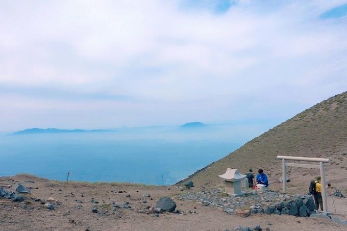 高千穂峰「霧島神宮元宮」からの眺望
