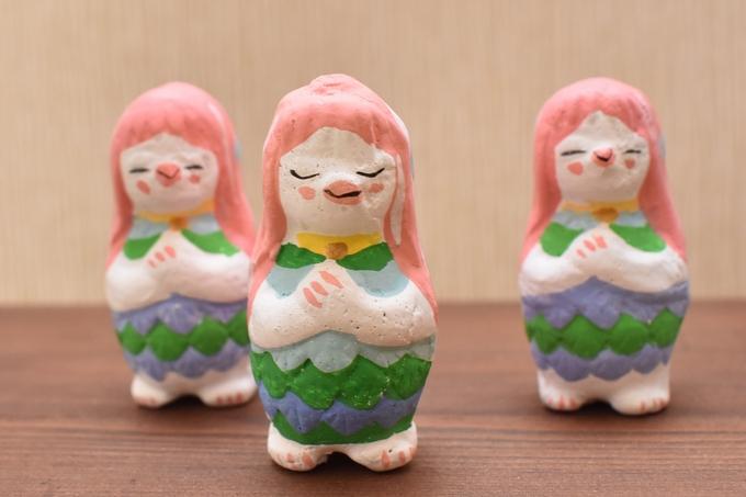 帖佐人形「あまびえ」