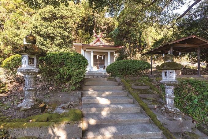 垂水麓「殿加神社」