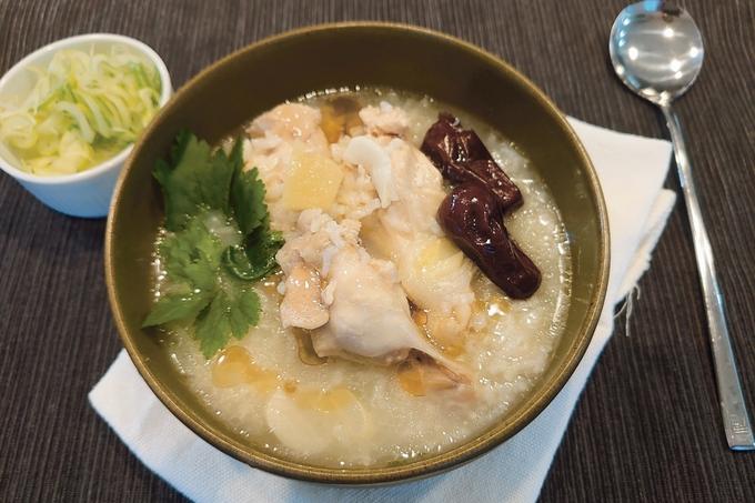 炊飯器で簡単サムゲタン風スープ