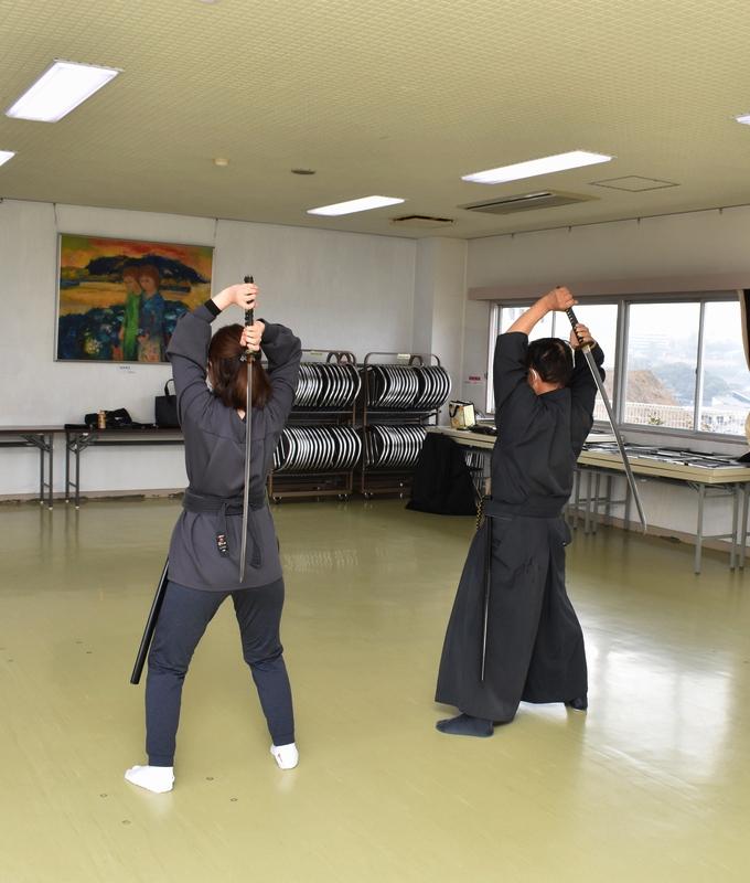 戸山流居合道「大空斬り①」