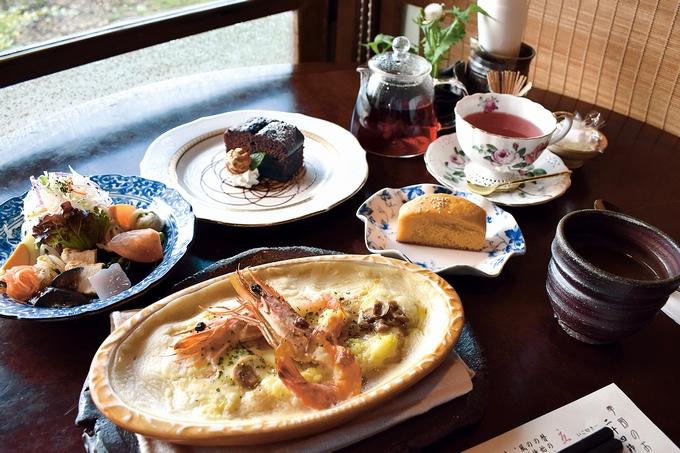 ハーブ&カフェレストラン祐「海老のドリア」