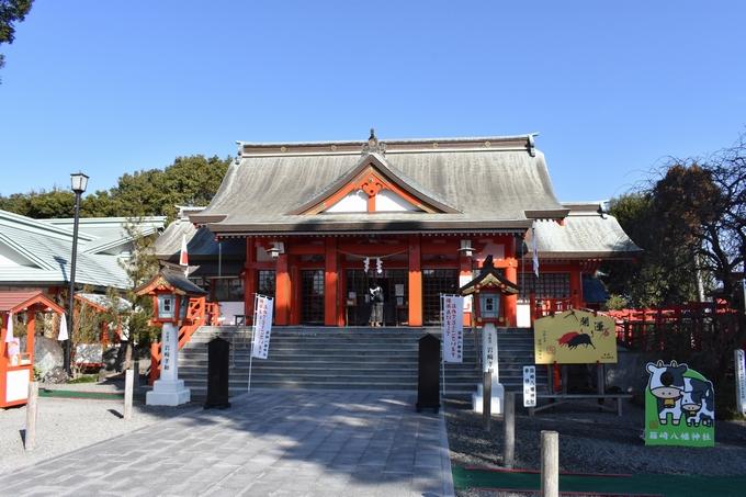 箱崎八幡神社「神殿」