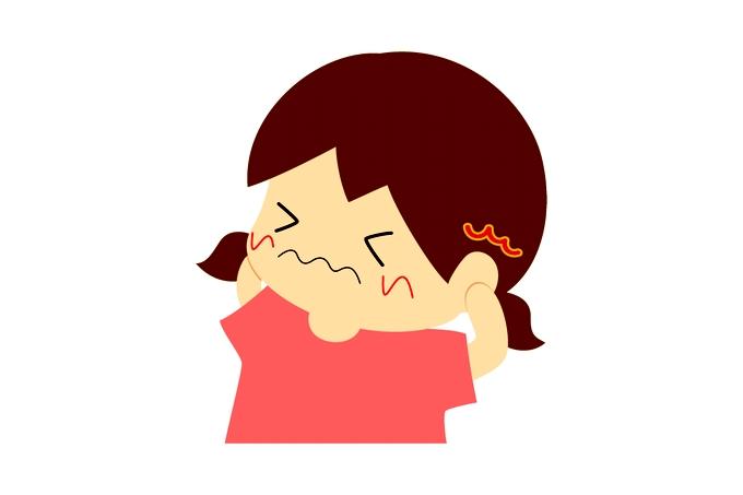 子どもの中耳炎イメージ
