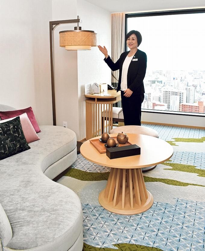 城山ホテル鹿児島「クラブルーム」