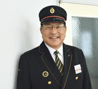 JR九州出水駅長 鶴薗義彰さん
