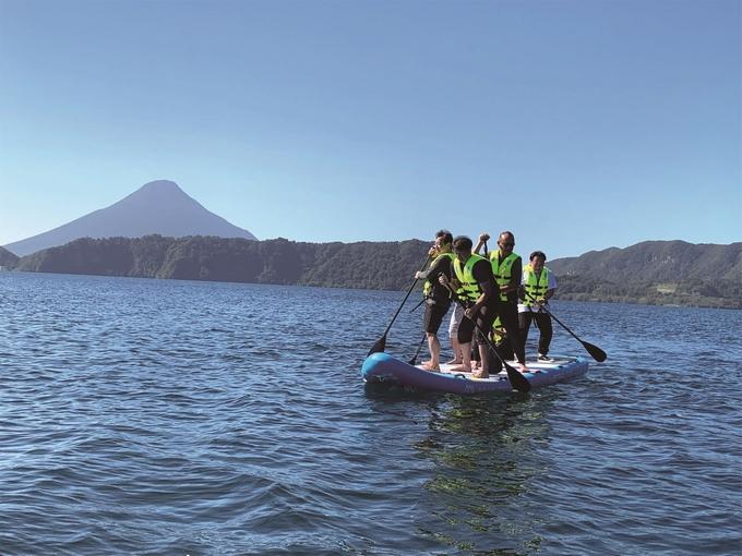 池田湖マリーナWARNA「メガサップ」