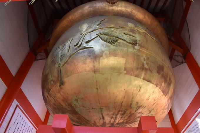 箱崎八幡神社「日本一大きな鈴」