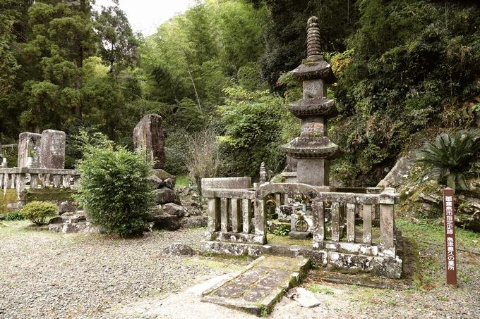 島津義久墓所(金剛寺跡)