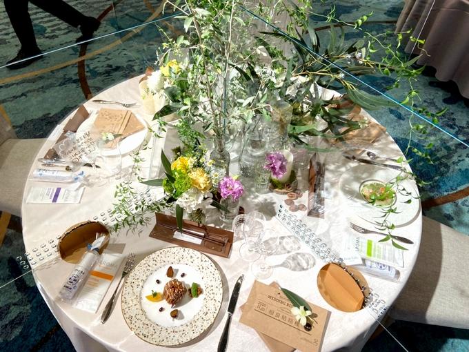 城山ホテル鹿児島「婚礼アクリルボード」