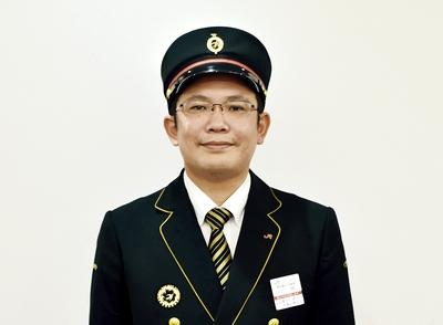JR九州 鹿児島中央駅長 小林健太郎さん