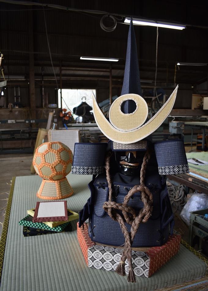 増田たたみ店「畳作りの技術を生かしたアイデア作品」