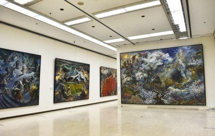鹿児島市立美術館「魂の旅 遠藤彰子展」