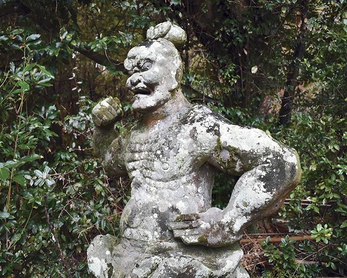 大慈寺の阿形相