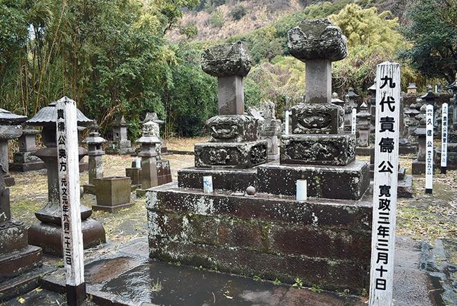 垂水島津家墓所