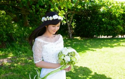 結婚、ウェディングドレスイメージ
