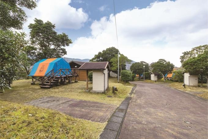 花瀬公園「オートキャンプ場」