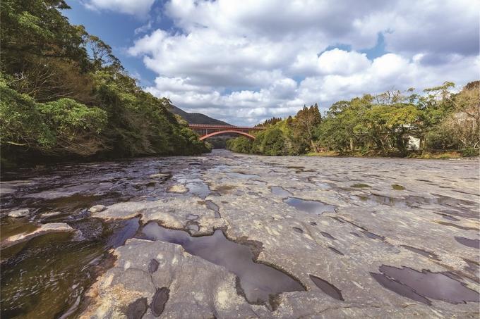 花瀬川の川床
