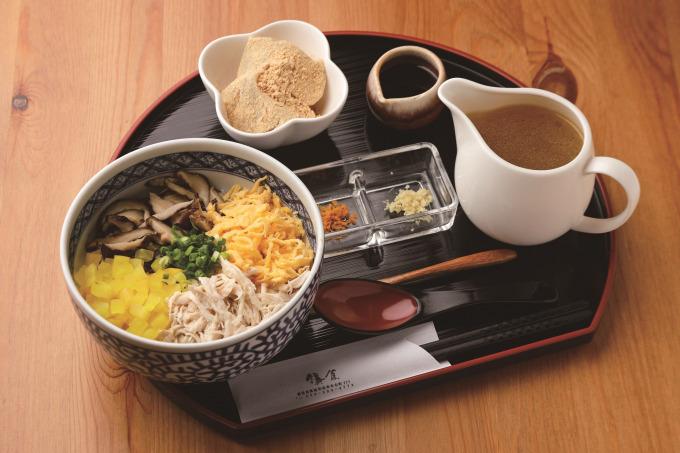 町家カフェ 鎌倉「鶏飯セット」