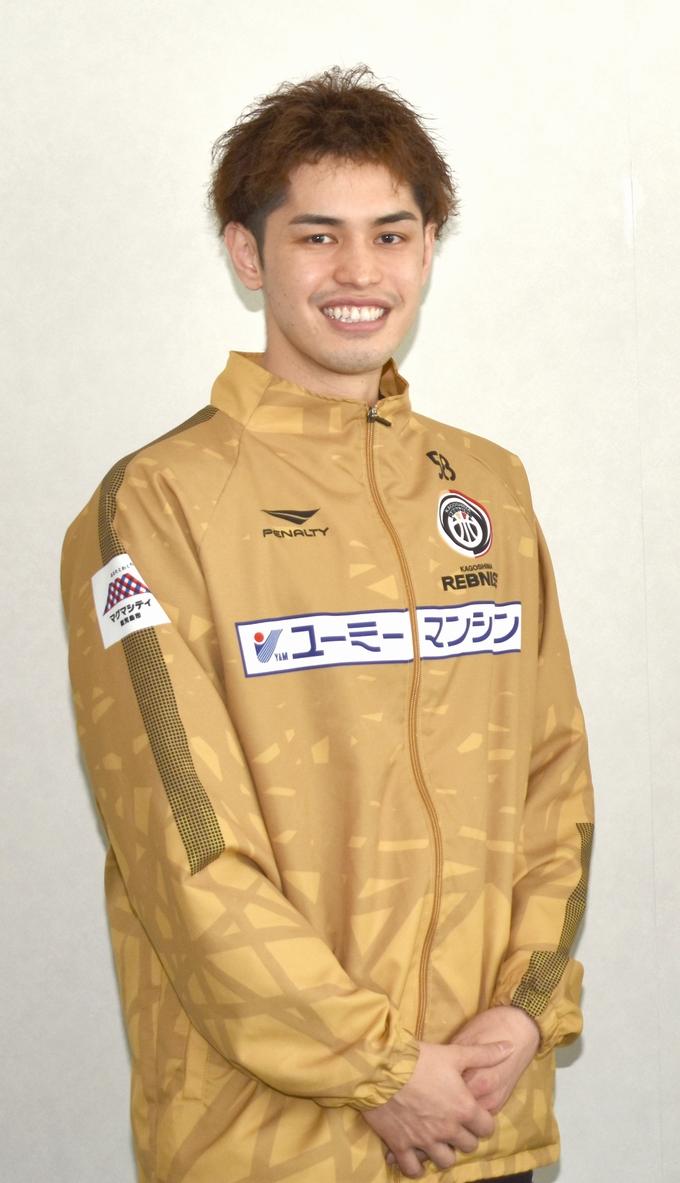 鹿児島レブナイズ 永山雄太選手