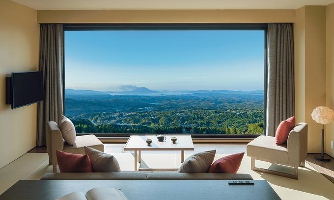 星野リゾート 界 霧島「客室から望む絶景」