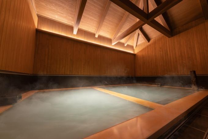 星野リゾート 界 霧島「温泉 湯浴み小屋」の内風呂