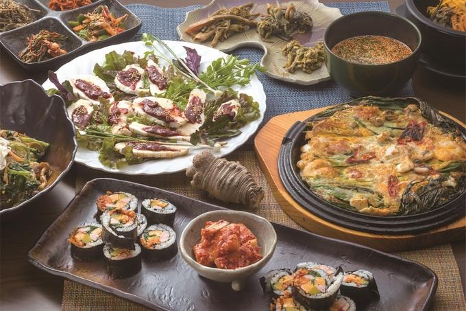 ソウル家庭料理 福子「海鮮チヂミなど」