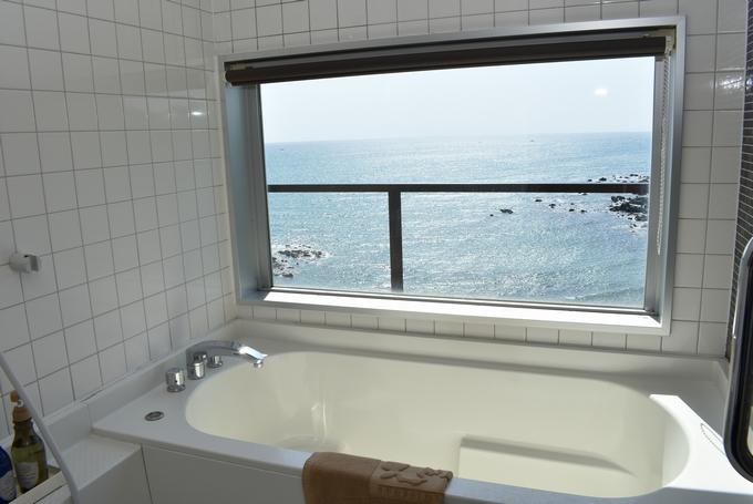 OCEAN RESORT えぐち家「特別室のバスルーム」