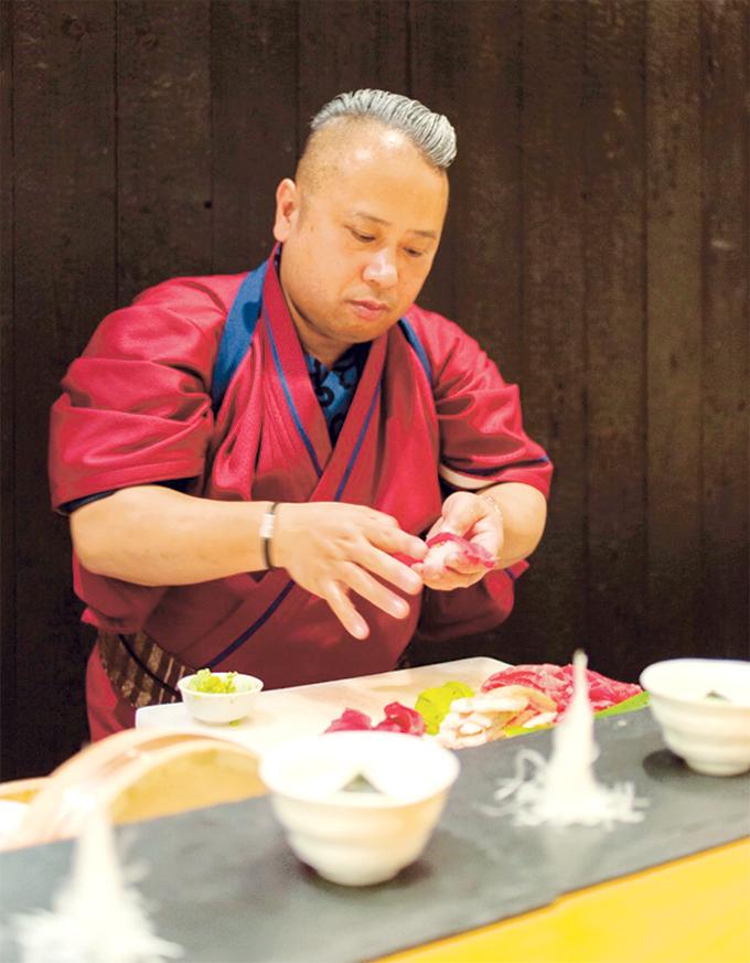 「桜島灰干し弁当」考案・開発者の梛木春幸さん
