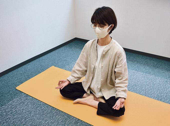 マインドフルネス瞑想をフェリアライターが体験