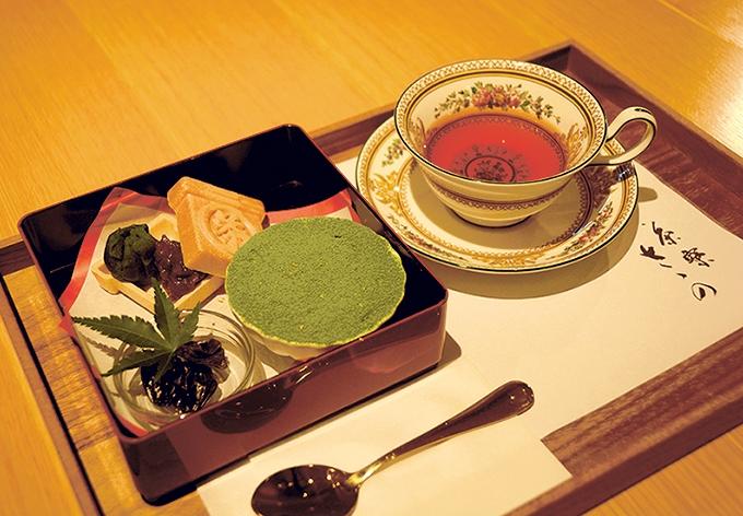 茶寮ささの「お茶箱」
