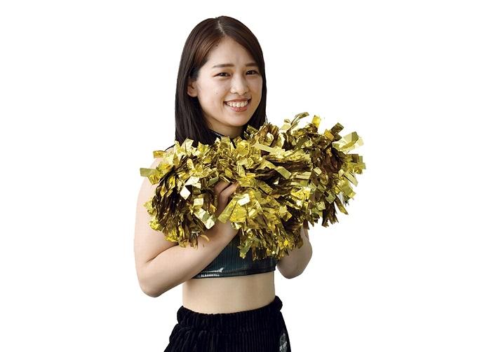 鹿児島レブナイズ専属チア・レイベス「Yu-ki」さん