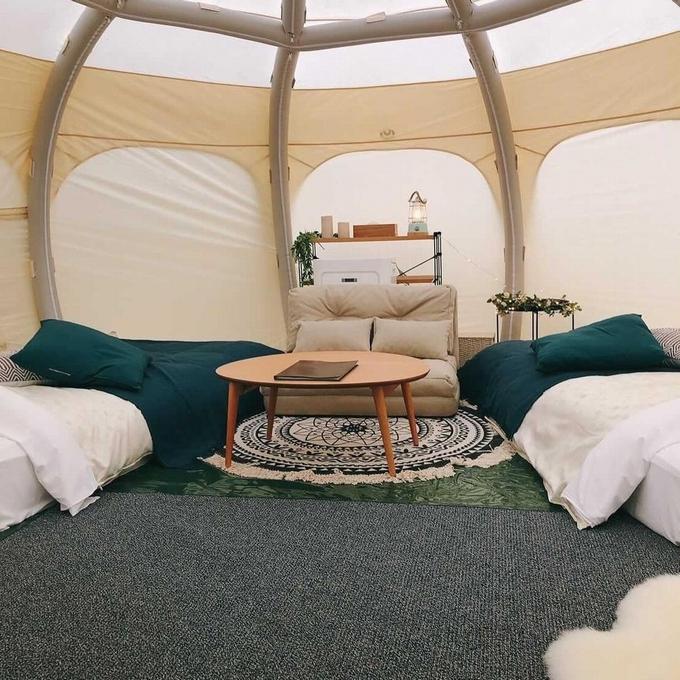 国民宿舎ボルべリアダグリ グランピングテント