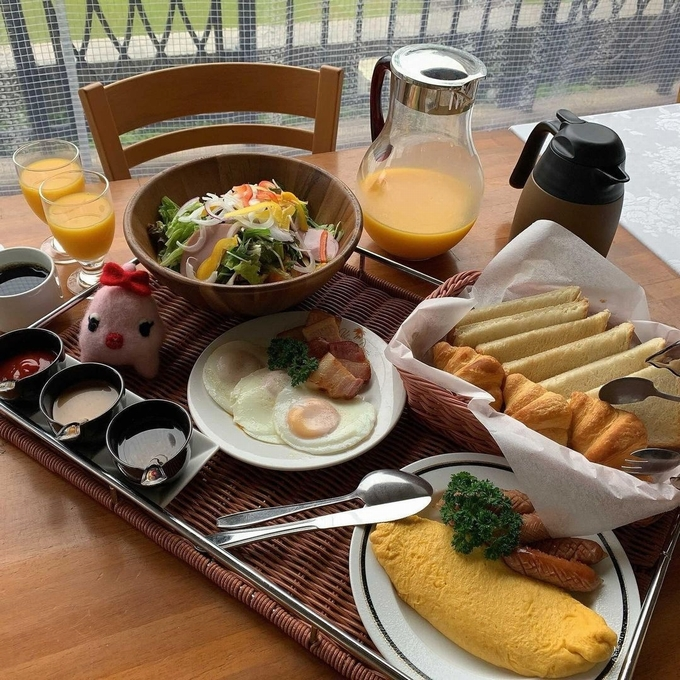 国民宿舎ボルべリアダグリ 朝食