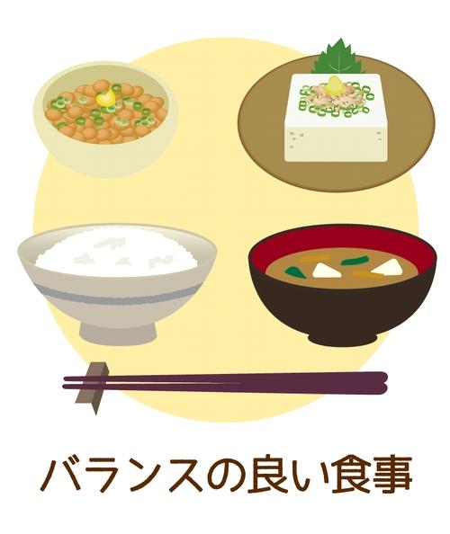 バランスの良い食事イメージ