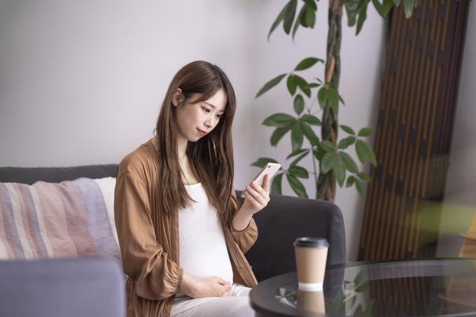 妊娠時の不安を解消イメージ